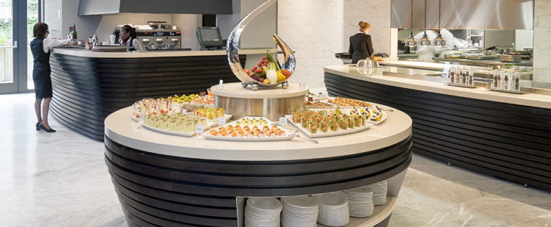 A designer buffet at L'Hôtel Royal Luxembourg