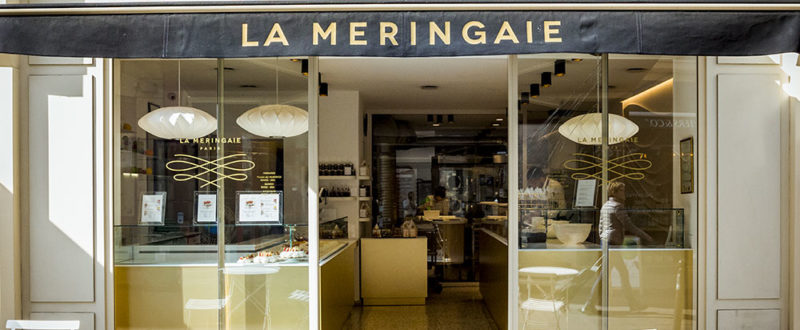 A pastry kitchen in La Meringaie